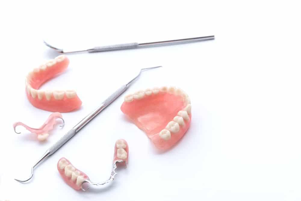 denture kit with partial dentures